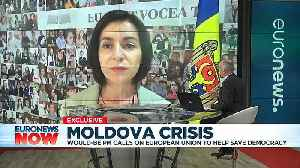 News video: Moldova would-be PM calls for EU's help amid political crisis