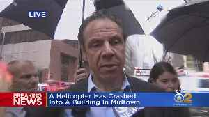 Gov. Andrew Cuomo On Midtown Helicopter Crash [Video]
