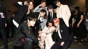 Halsey Performs 'Boy With Luv' With BTS in Paris | Billboard News [Video]