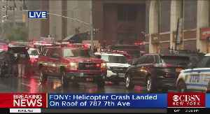Chopper 2's Dan Rice On Midtown Helicopter Crash [Video]