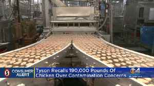 Tyson Foods Recalls Chicken Fritters [Video]