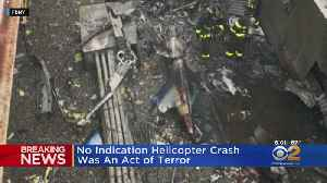 Helicopter Pilot Dies After Crash On Top Of Manhattan Office Tower [Video]