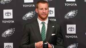 Philadelphia Eagles quarterback Carson Wentz on relationship with Eagles head coach Doug Pederson: 'He's always had my back' [Video]