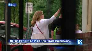 16,000 people to visit for STAR orientation [Video]