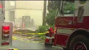 Firefighters return to Perry chemical plant for 3-alarm fire [Video]