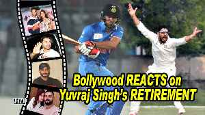 Bollywood CELEBS REACT to Yuvraj Singh's RETIREMENT from Cricket [Video]