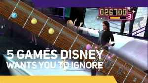 5 Games Disney Wants You To Ignore [Video]