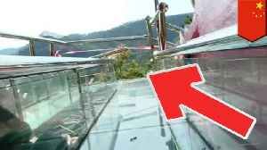China overly slippery glass slide accident leaves 1 dead, 6 injured [Video]