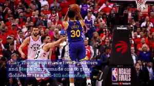 Warriors Complete Late Comeback to Defeat Raptors in Game 5 [Video]
