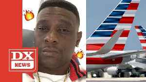 Boosie Badazz Calls American Airlines Racist After Not Allowing Him To Board Plane [Video]