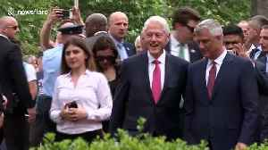 Kosovo honors Bill Clinton for ending ethnic cleansing on 20 year anniversary [Video]