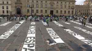 Exhibition's tribute to human rights activists killed in Colombia [Video]