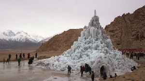 Ice Pyramids Are Bringing Fresh Water To The Desert [Video]