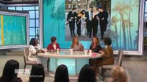 The Talk - Jennifer Aniston Reveals 'Friends' Co-Stars' Real Reaction to Reunion; 'Not a peep' [Video]