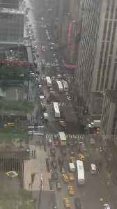 Fatality Reported After Helicopter Crash Lands in Midtown Manhattan [Video]