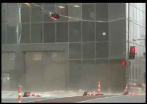 Street Lights Shake in Downtown Dallas as Storm Brings Damaging Winds [Video]