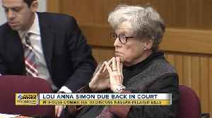 Lou Anna Simon due back in court for preliminary exam [Video]