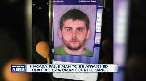 Niagara Falls man to be arraigned Tuesday after woman found chained [Video]