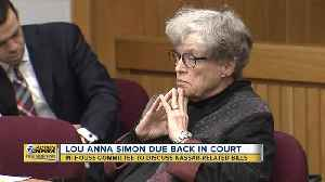 Lou Anna Simon due back in court today [Video]