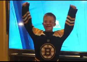 Boston Bruins Super Fan, Known as 'Fist Bump Kid,' Ecstatic Over Game 6 Win [Video]