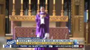 Bishops from all over the country coming Baltimore to combat  global sex abuse scandals [Video]
