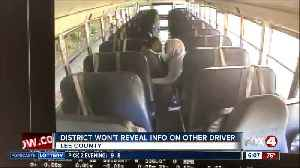 School bus driver reprimanded for for incident on bus last month [Video]