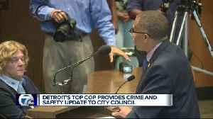 Chief Craig provides crime and safety update to Detroit City Council [Video]