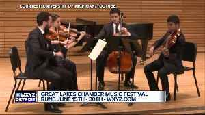 Great Lakes Chamber Music Festival runs June 15-30 [Video]
