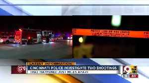 Cincinnati police investigate 2 shootings within 2 miles of one another [Video]