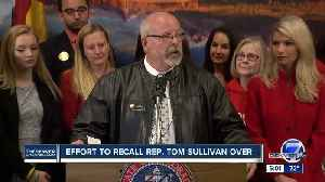 Colorado GOP vice chair says effort to recall Rep. Tom Sullivan will be dropped [Video]