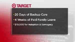 News video: Target Announces Better Benefits For Full And Part-Time Employees