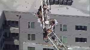 Tenants Allowed Back In Damaged Apartment Building Struck By Crane To Get Personal Items [Video]