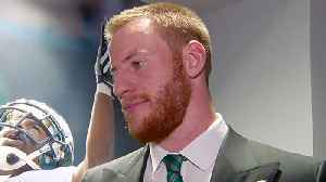 Philadelphia Eagles quarterback Carson Wentz on contract extension: 'It's been a while since I've felt this good' [Video]