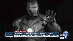 Students at the Colorado School of Mines have built the closest thing to a real-life 'Iron Man' suit [Video]