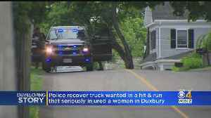 Police Recover Truck Wanted In Duxbury Hit & Run [Video]