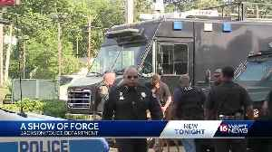 Jackson police officers saturate city in effort to deter gun violence [Video]