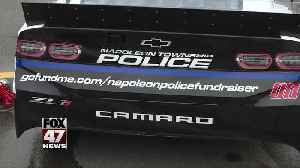 GoFundMe for local police dept. unveiled at Firekeepers Casino 400 [Video]