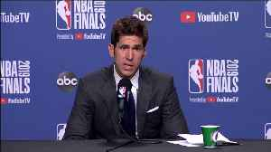 News video: Warriors GM Bob Myers in Tears After Durant Injury