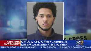 News video: Police Officer Terrance Finley Charged In Crash That Killed Mother Of Two