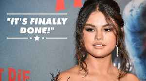 News video: Selena Gomez finally finishes new album