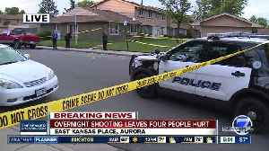 Overnight shooting leaves four people injured in Aurora [Video]
