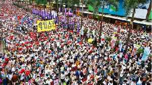 Hong Kong Braces For Mass Protests, Strikes [Video]