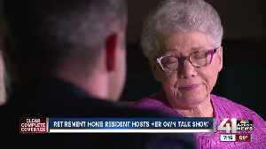 Retirement home resident hosts her own talk show [Video]