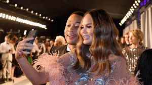 Chrissy Teigen slams social media user for asking if she's pregnant [Video]