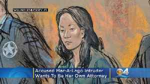 Accused Mar-A-Lago Intruder Wants To Become Her Own Attorney [Video]