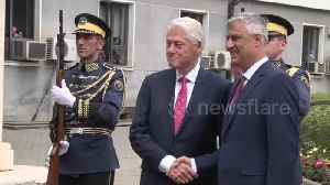 News video: Kosovo honors Bill Clinton for ending ethnic cleansing on 20 year anniversary