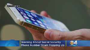 Beware Of Social Security Phone Number Scam Making The Rounds [Video]