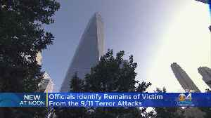 Officials Identify Remains Of 9/11 Terror Attacks Victim [Video]