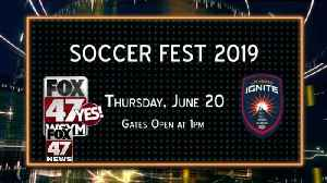 News video: Join us at Soccer Fest 2019