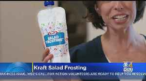 Kraft Introduces 'Salad Frosting' To Get Kids To Eat Their Greens [Video]